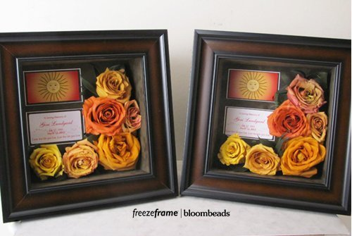 Funeral Flower Preservation as Lasting Keepsakes