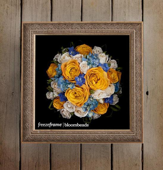 Preserve Your Wedding Flowers as Lasting Art