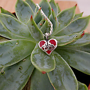 Recently Completed Filigree Heart Pendant